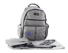 Knuddelstuff 'Buckingham' Baby Diaper Bag Backpack & Organizer System – Pockets,
