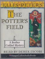 Potter's Field Ellis Peters 2 Cassette Audio Book Brother Cadfael Mystery