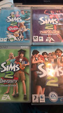 THE SIMS 2  + EXPANSION PACKS - MAC OS - USATO COME NUOVO /USED LIKE NEW
