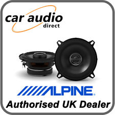 "ALPINE S-S50 13.5cm 5.25"" 170W 2-Way Coaxial Radio Stereo Audio Speakers Door"