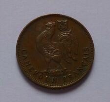 Französisch-Kamerun 50 Centimes 1943 / French Cameroon 50 Centimes 1943, Rooster