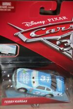 "DISNEY PIXAR CARS 3 ""#31 TERRY KARGAS...A.K.A. TRIPLE DENT"" BONUS COLLECTOR CARD"