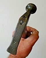 marteau à battre de cordonnier marqué d'une étoile n° 7  - outil du cuir