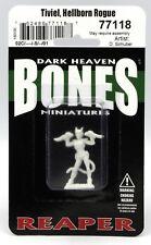 Reaper 77118 Tiviel Hellborn Rogue (Bones) Female Tiefling Thief Dual-Wield Hero