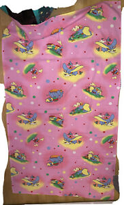 Dumbo Vintage Bettwäsche Decke Disney 🌸 Rosa Bedding Rar