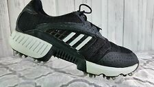 Adidas 791003 Torsion System CLIMACOOL Black/White Golf Shoes Men's U.S.9.5