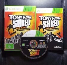Tony Hawk Shred (Microsoft Xbox 360, 2010) Xbox 360 Game - FREE POST