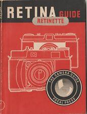 Vintage Focal Press Retina Retinette Guide Camera Manual Instructions Booklet