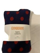 Nwt Gymboree Sz 3 4 Vintage Home Comming Kitty Tights