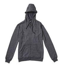 New Dc Rebel Zh Zip-Up Black Men's Sweatshirt Hoody - (Xl)