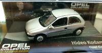 Opel Corsa B Grigia Hideo Kodama - Scala 1:43 Die Cast - Opel Collection - Nuova