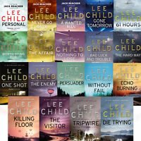 Lee Child Collection Jack Reacher Series 19 Books Set Pack Personal Brand NEW PB