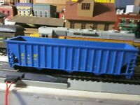 L&N 3  BAY OPEN HOPPER, rtr built CAR 1/87 ho ROUNDHOUSE=ATHEARN?