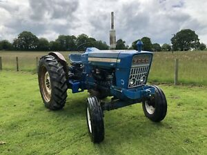 Ford 5000 Tractor Clean Example