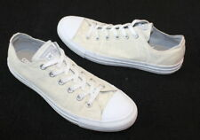 CONVERSE All-Star Low Top Sneakers Chuck Taylor Brocade Cream White Women Sz 10