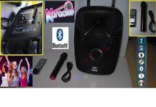 Cassa acustica amplificata Trolley Karaoke 100 W con  microfono senza filo