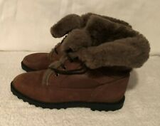 Womens Blondo Sherpa Lined Snow boots  Size 7B