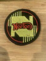Norton Motorcycle Patch, Vintage, Original