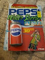 Pepsi 90's Vintage Battery-Powered Water Shooter Can Shaped Toy 1989