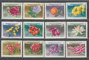 Salvador - Mail 1964 Yvert 697/702 + A 194/9 MNH Flowers