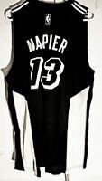 Adidas Swingman 2015-16 NBA Jersey Miami Heat Napier Black Fashion sz XL