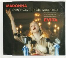 (GX193) Madonna, Don't Cry For Me Argentina - 1996 CD