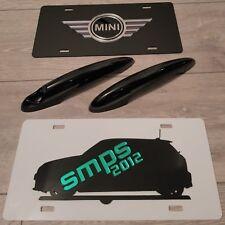 Mini Gen 2, R56, 57,58,59,61 Cooper S JCW Noir Brillant Poignée Couvre. 2006-2013