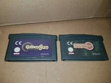 Jeux Game Boy Advance golden sun et golden sun l'âge perdu