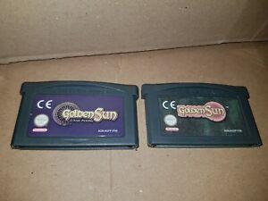 Jeux Game Boy Advance golden sun et golden sun l'âge perdu