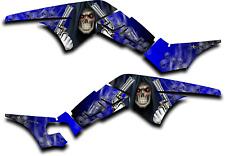 HONDA TRX250R GRAPHICS DECAL KIT GRIM REAPER REVENGE TRX 250 R STICKER BLUE