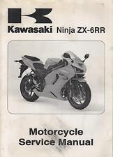 2005 KAWASAKI MOTORCYCLE NINJA ZX-6RR  P/N 99924-1346-01 SERVICE MANUAL (230)