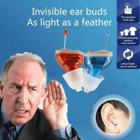2019 New Mini inner Ear Invisible hearing Aid CIC Adjustable Sound Amplifier