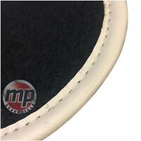 Perfect Fit Black Carpet Car Floor Mats Set Tailored for Porsche Cayenne 02-10