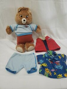 Vintage Teddy Ruxpin Talking Teddy Bear 1985