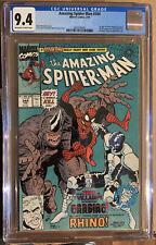 Amazing Spider-Man #344 CGC 9.4 🔥 1st: Cletus Cassaday (Carnage) Venom 2 Movie