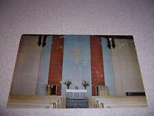1950s TAYLOR CHAPEL at BROADWAY TABERNACLE CHURCH NEW YORK CITY NY. VTG POSTCARD