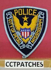 CITY OF PETAL, MISSISSIPPI POLICE SHOULDER PATCH MS