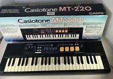 More details for casiotone mt-220 keyboard vintage - original box  vintage 80's - working