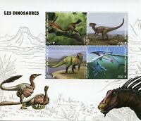Dinosaurs Stamps 2019 MNH Dinosaur Dracorex Prehistorical Animals 4v M/S