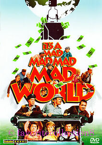 It's a Mad, Mad, Mad, Mad World (1963) - Spencer Tracy, Milton Berle(Region All)