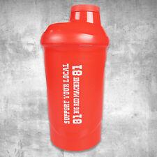 Support 81 World Eiweiss-Shaker Flasche Becher Tasse 600 ml - HAMC North End
