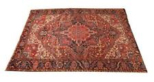 Heriz Rug, - 8 ft. 10 in. x11 ft. 11 in. Lot 590