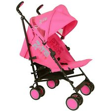 Pink Lightweight Summer Single Stroller Pram Pushchair