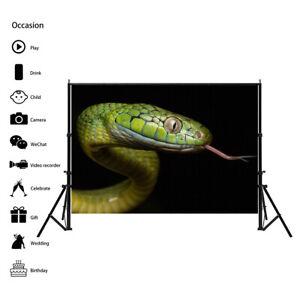Green Snake Photography Background Wall Backdrop Prints Decor AA1