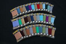 M001c Mercerie lot de 39 cartes fil LAINE SAINT PIERRE assortiment couleur Neuf