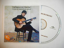 THOMAS DUTRONC : COMME UN MANOUCHE SANS GUITARE ♦ CD SINGLE PORT GRATUIT ♦