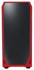 Bitfenix Egida Core Metà Custodia per Torre Dei Giochi - Rosso USB 3.0