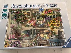2019 PREMIUM Ravensburger 2000 piece puzzle Gardener's Paradise #139965 NEW!