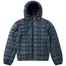 Polo Ralph Lauren Mens Lightweight Packable Down Jacket | Blackwatch Tartan RARE