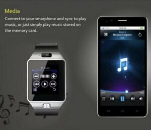 The Best Affordable Smart Watch In The World Gold Dz09 Bluetooth Smart Watch!!!